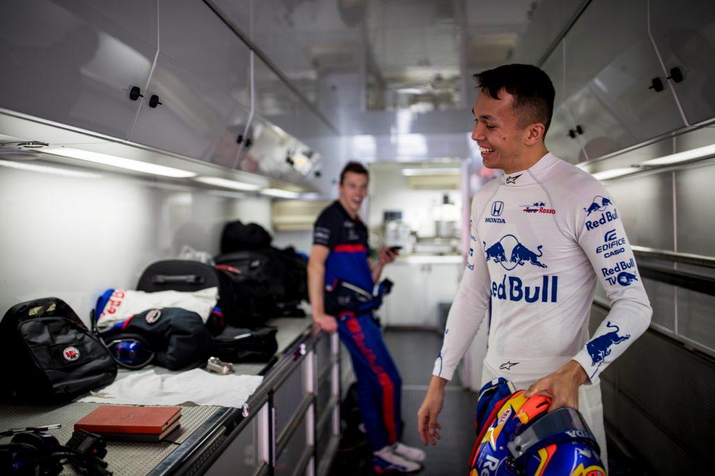 Albon Kvyat Toro Rosso Barcelona