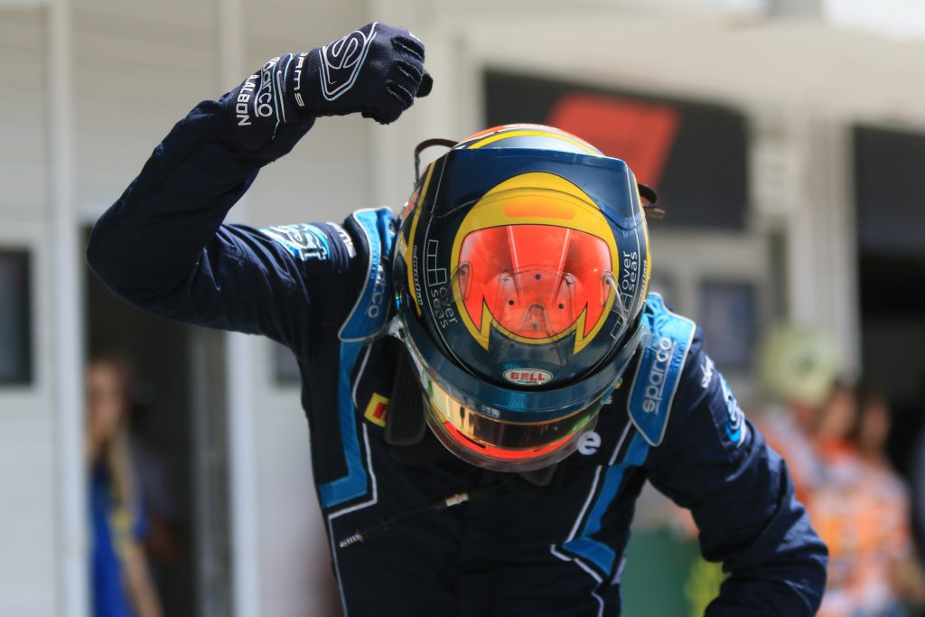 Albon F2 Formula Two DAMS Hungary
