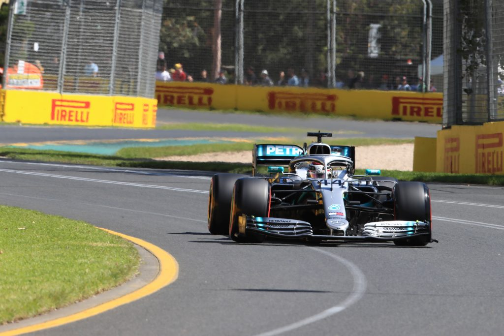 Hamilton Mercedes Australian Grand Prix
