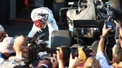 Photo of Mercedes confirm Hamilton suffered from floor damage
