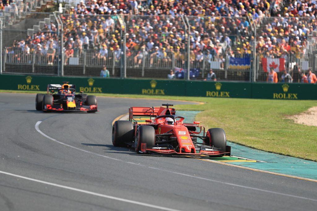 Sebastian Vettel Ferrari Australian Grand Prix