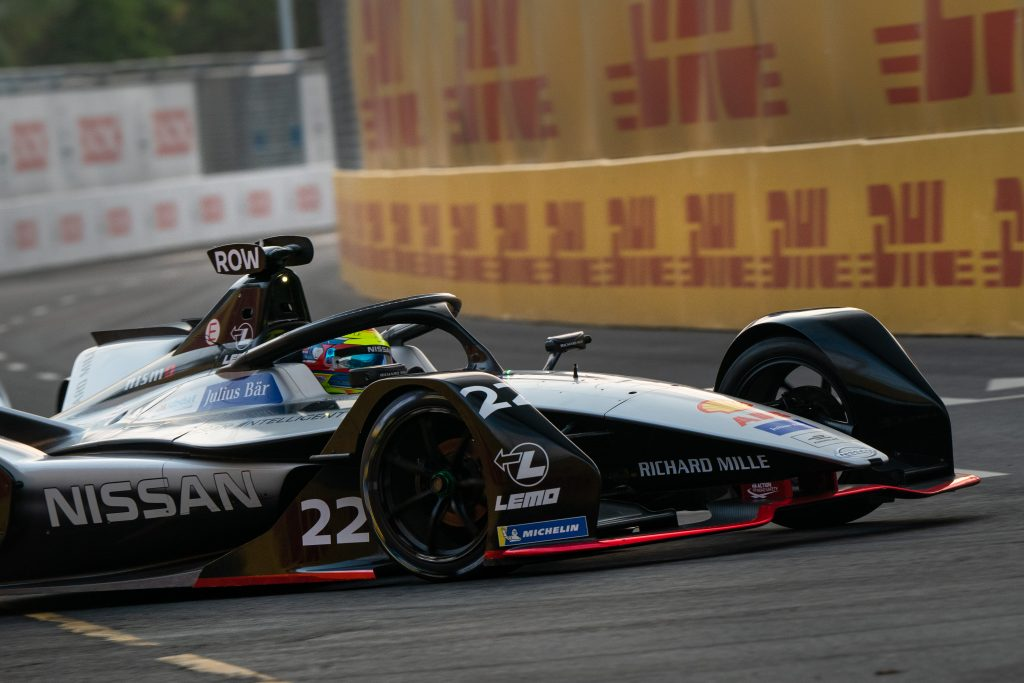 Rookie Rowland claims first Formula E pole in Sanya