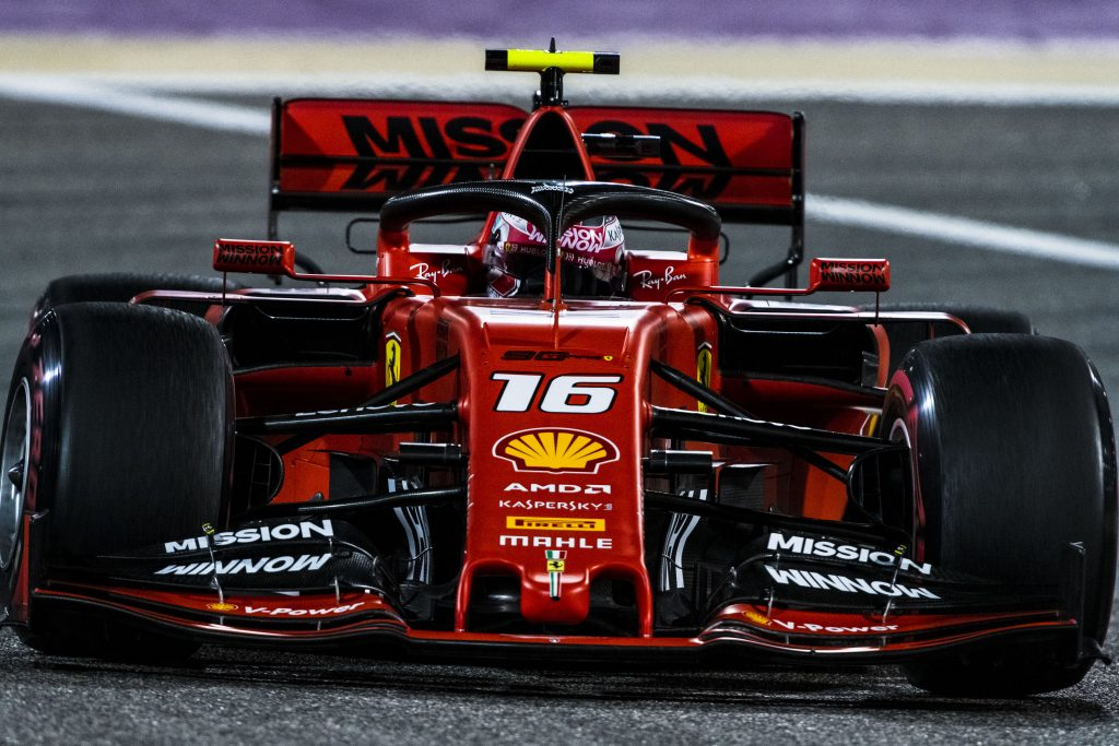 Formula 1 Leclerc Leads Emphatic Ferrari 1 2 In Bahrain Final Practice Fp3 Report