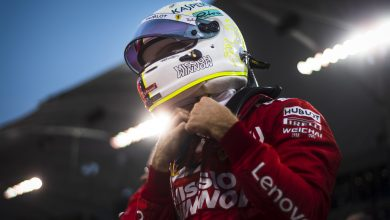 Photo of Vettel morose after disastrous evening with 'difficult' car