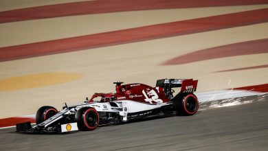 Photo of Raikkonen happy with P7 after challenging middle stint