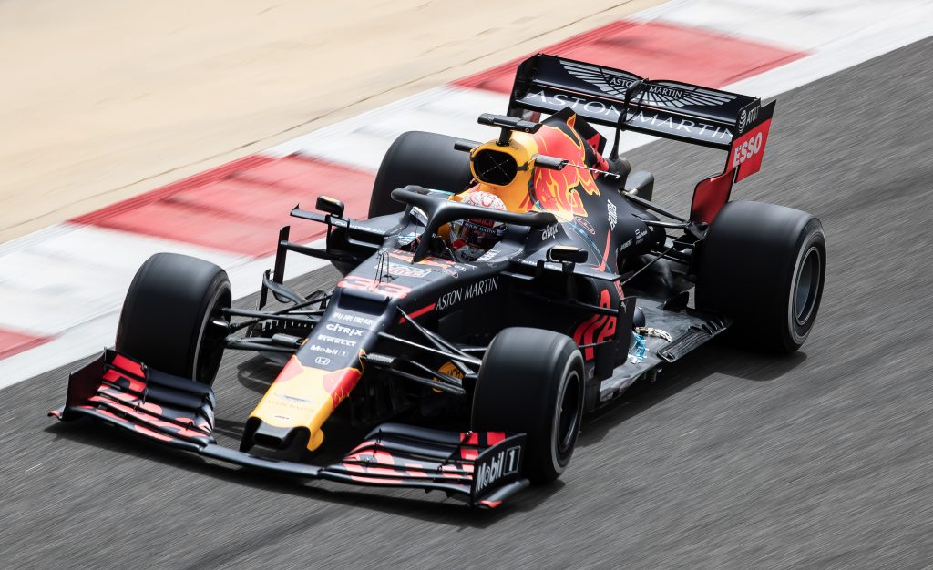 Max verstappen Red Bull Racing Bahrain Test