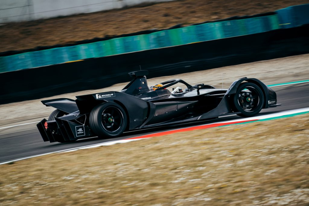 Mercedes complete Formula E car shakedown in Italy