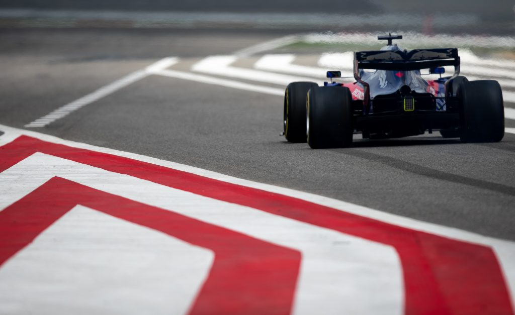 Toro Rosso Bahrain Test