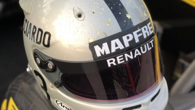 Photo of F1 drivers unveil race helmet tributes for 1000th F1 race