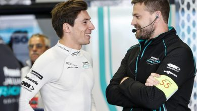 Photo of Lynn completed filming day for Jaguar ahead of Formula E return
