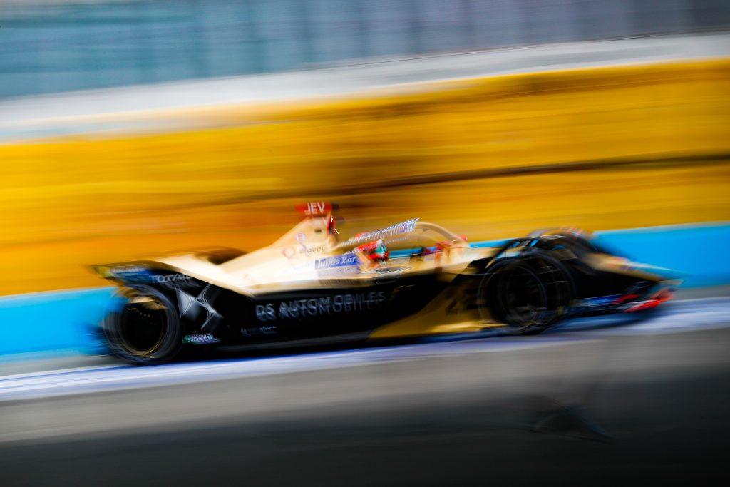 Vergne fastest in Formula E Rome practice