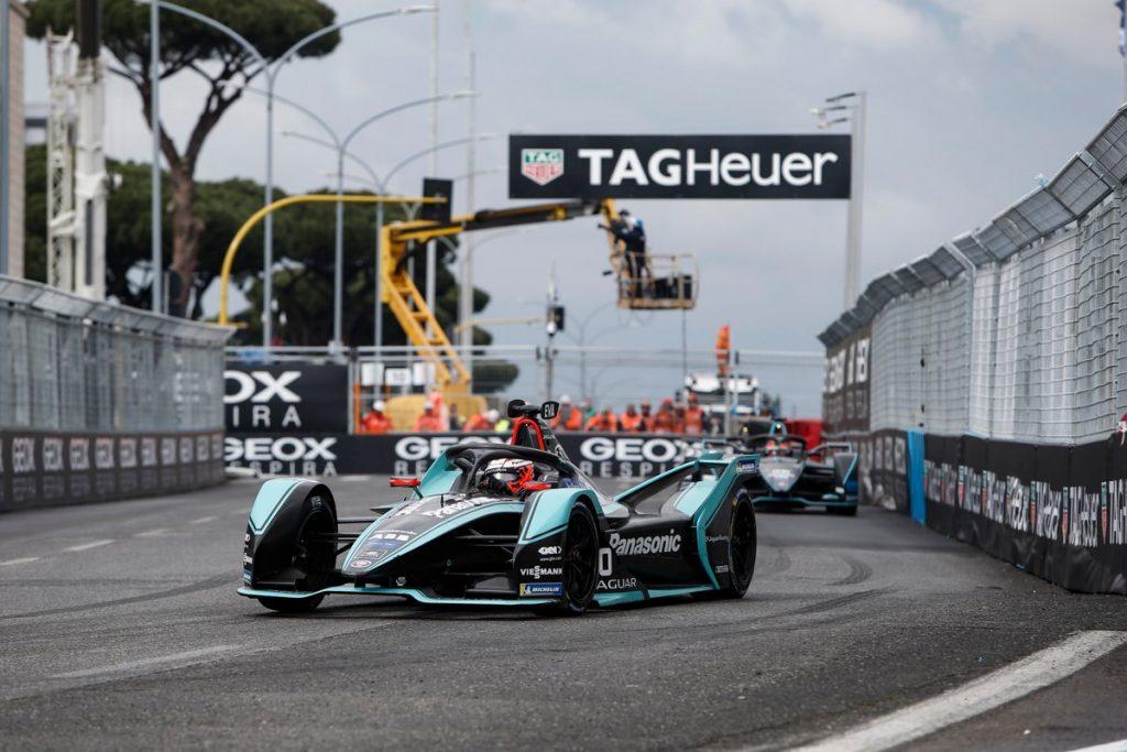 Evans claims first Jaguar Formula E win, Vandoorne on podium