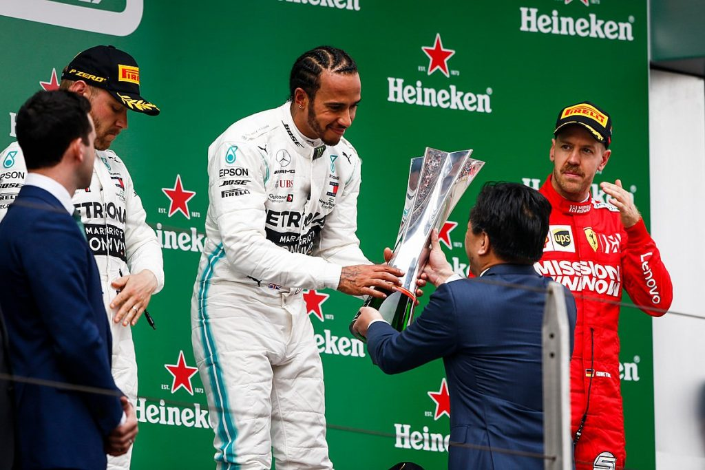 Driver's & Constructor's Championship Table – Chinese GP (Round 3)
