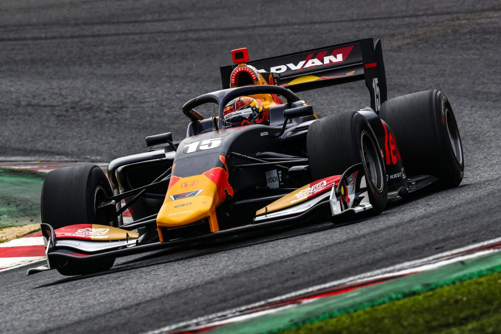 Dan Ticktum Red Bull Super Formula Team Mugen