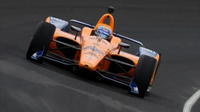 Photo of Alonso encounters technical gremlins at Indy 500 practice