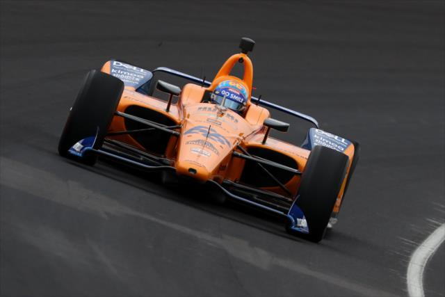 McLaren SPM IndyCar