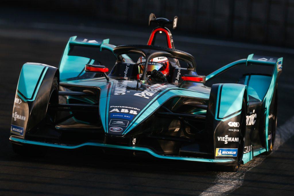 Mitch Evans Jaguar Paris E-Prix