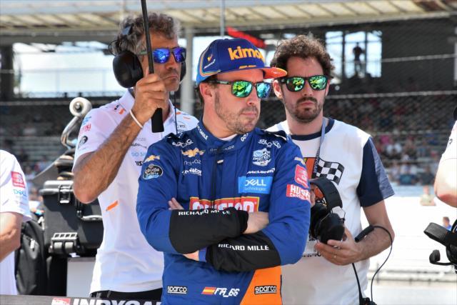 Fernando Alonso Qualifying Indy 500 2019