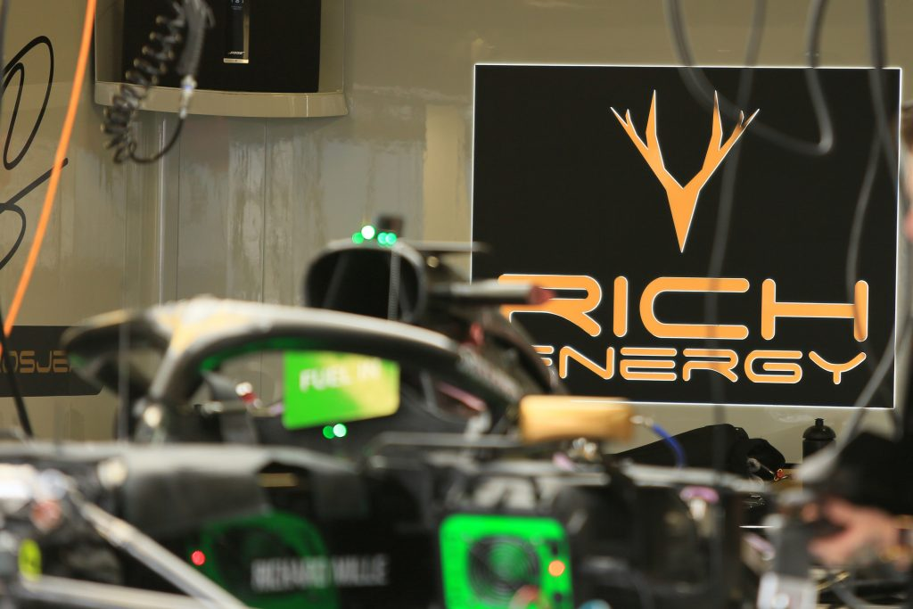 Rich Energy Whyte Bikes William Storey Formula 1 F1