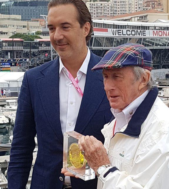 Sir Jackie Stewart Monaco