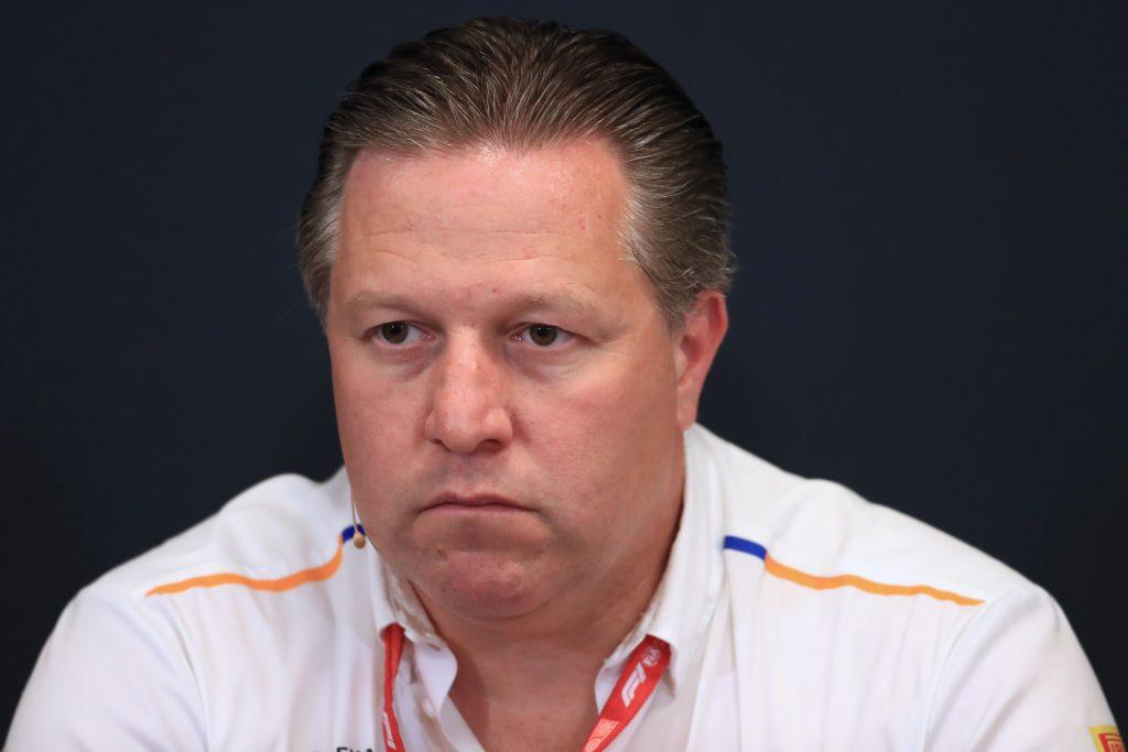 Zak Brown McLaren Monaco Grand Prix