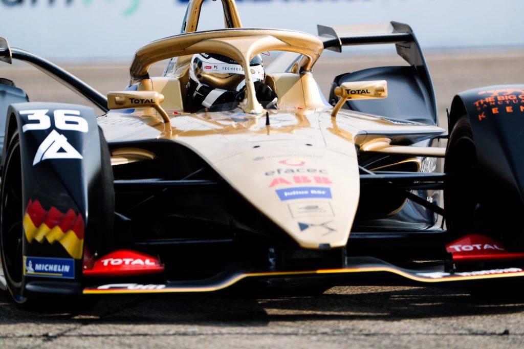 Lotterer fastest in Berlin Formula E practice