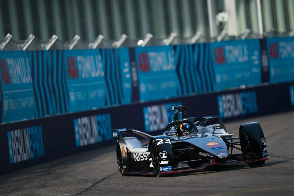 Buemi takes pole for Berlin E-Prix