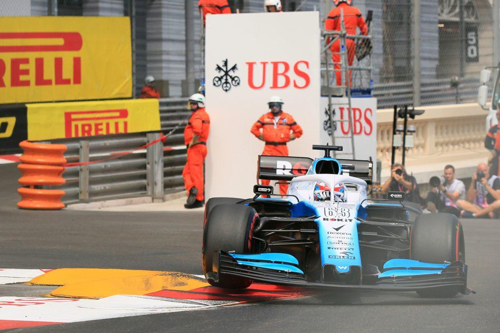 Williams Monaco Grand Prix practice