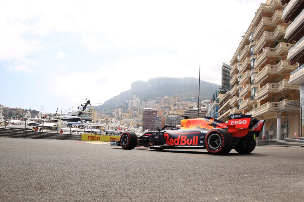 Red Bull Monaco Grand Prix Practice