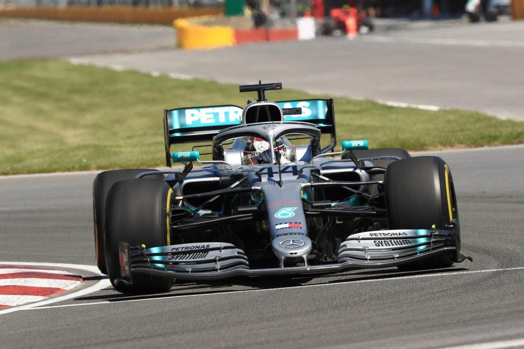 Canadian Grand Prix Montreal Practice Lewis Hamilton Mercedes