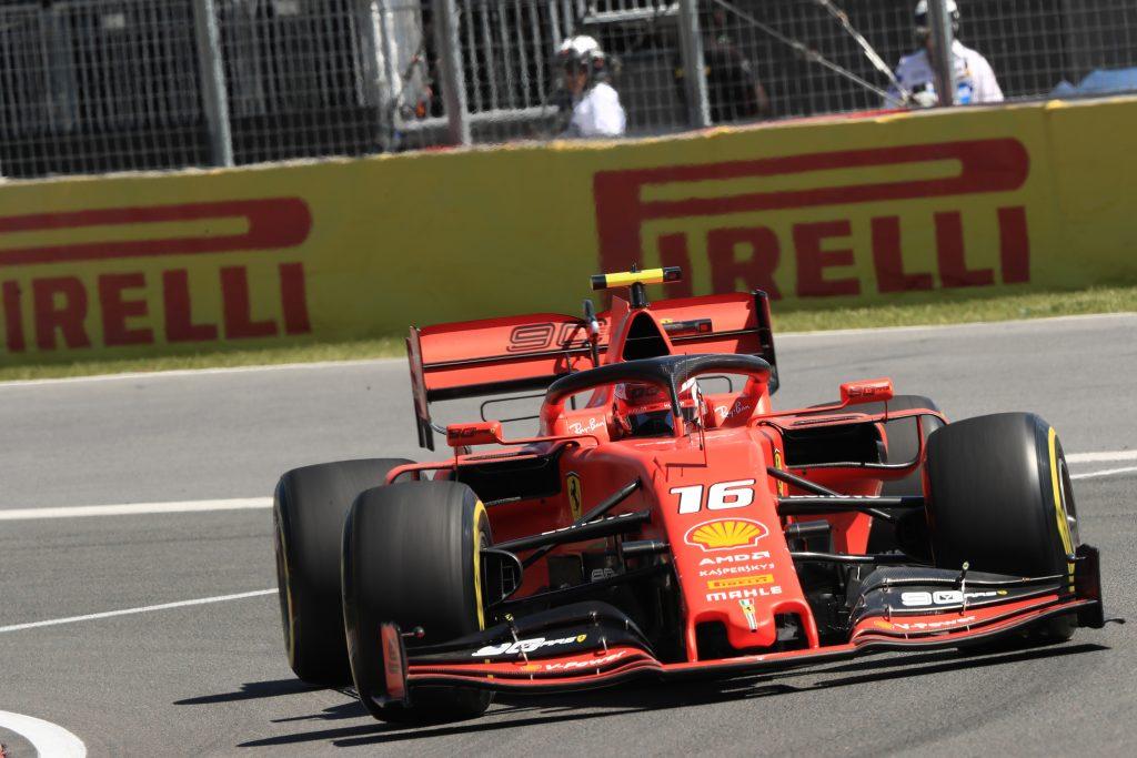 Canadian Grand Prix Montreal Practice Leclerc Ferrari