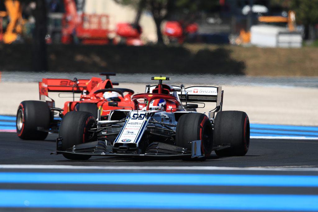 Alfa Romeo Ferrari Giovinazzi French Grand Prix