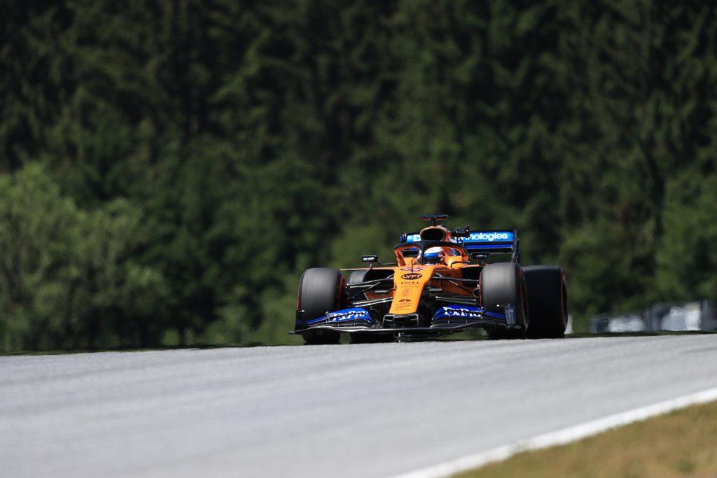 McLaren Sainz Albon