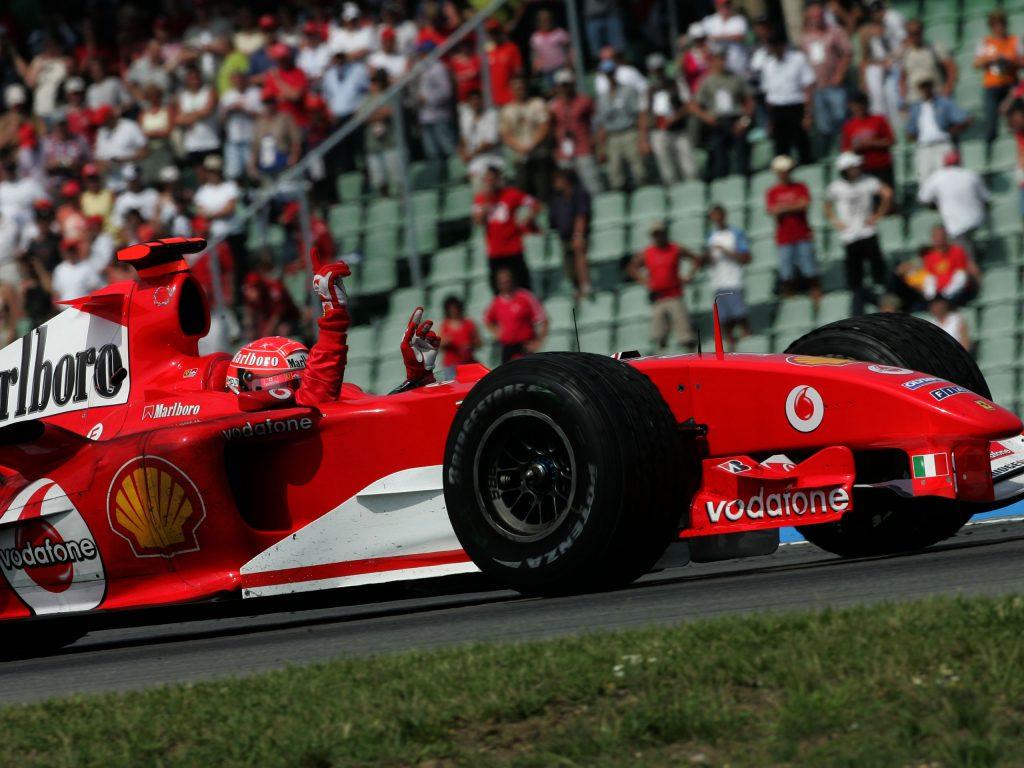 Formula 1 Mick Schumacher To Drive Ferrari F2004 At Hockenheim