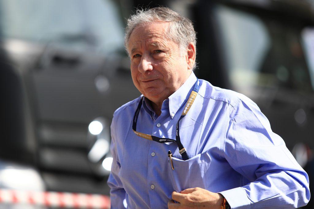 Jean Todt FIA president Formula 1 refuelling rule changes