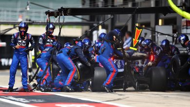 Photo of Engine voltage issue prevented Albon from pitting