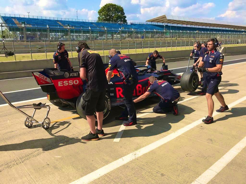 Pirelli Silverstone tyre test testing F1 Buemi Gasly Kubica Russell