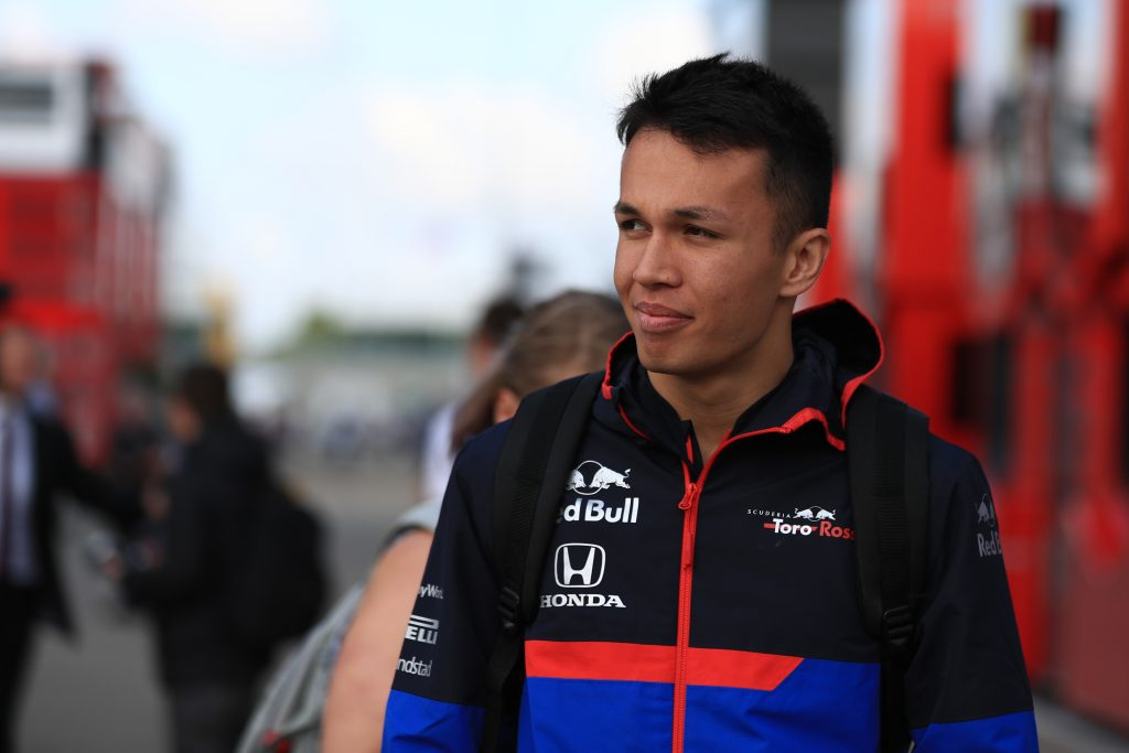 Alex Albon Toro Rosso Formula 1 British Grand Prix