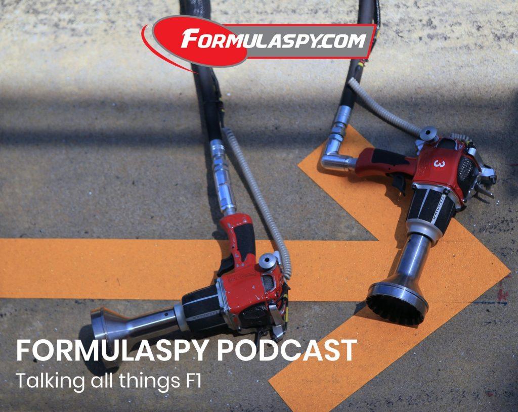 FormulaSpy podcast