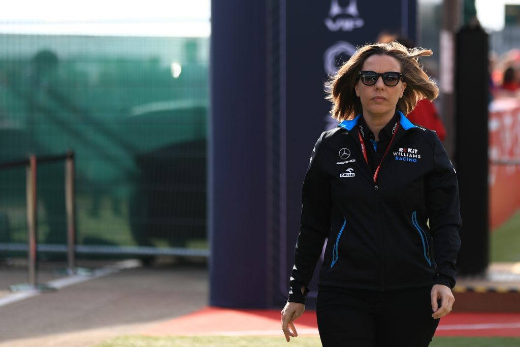 Formula 1 Claire Williams Our Future Is With Mercedes