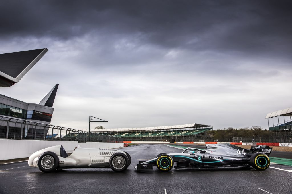 Mercedes F1 German Grand Prix livery