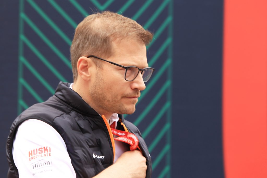 McLaren team Principal Andreas Seidl German Grand Prix