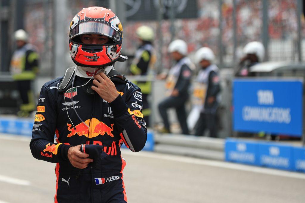 F1 Formula 1 German Grand Prix Pierre Gasly Red Bull Racing