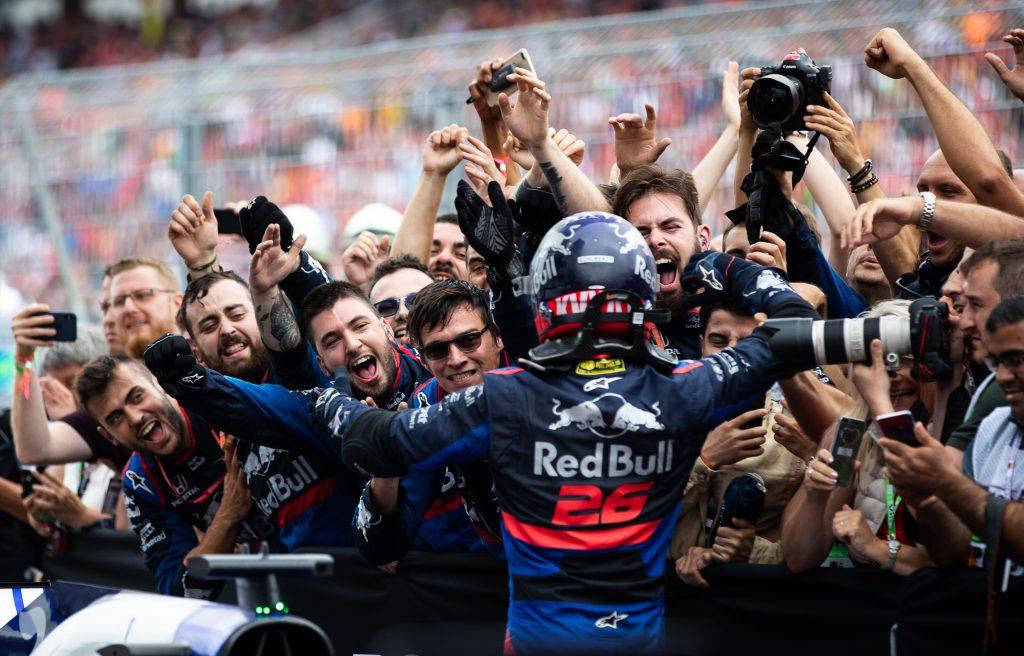 F1 Formula 1 Daniil Kvyat Toro Rosso Helmut Marko german grand prix