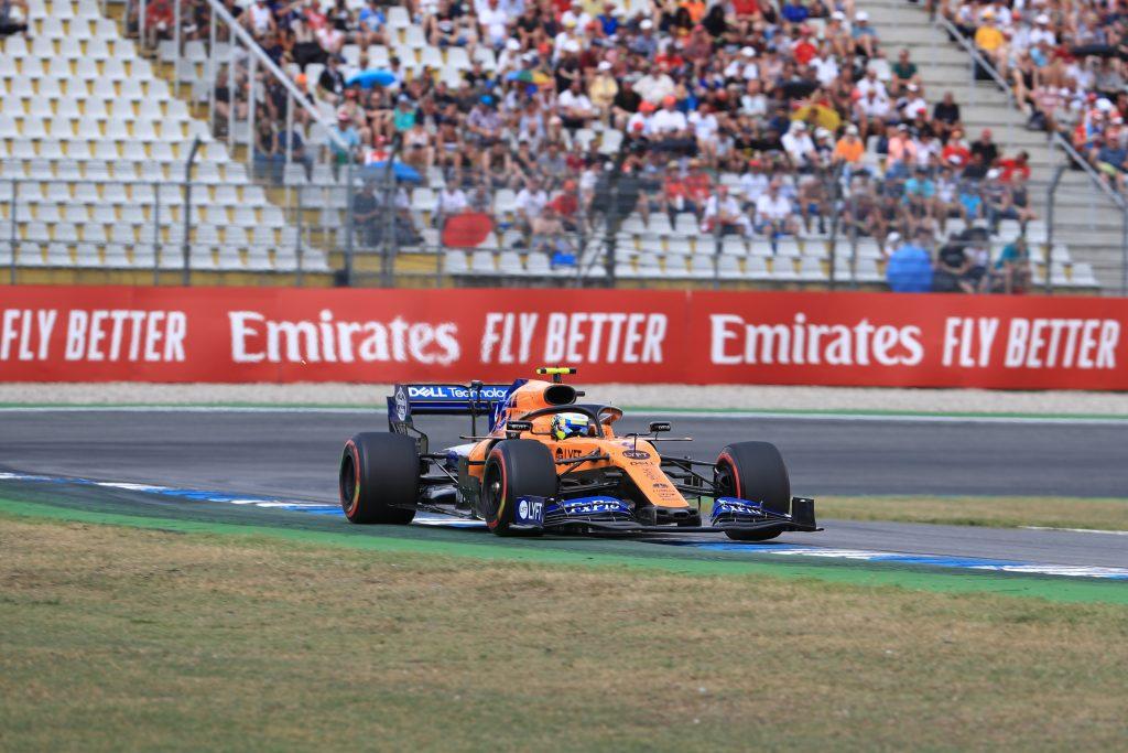 Lando norris McLaren F1 Formula 1 German grand prix