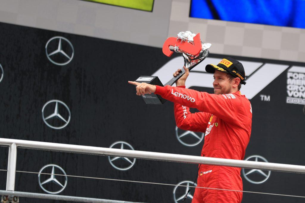 F1 Formula 1 German Grand Prix Ferrari Sebastian Vettel