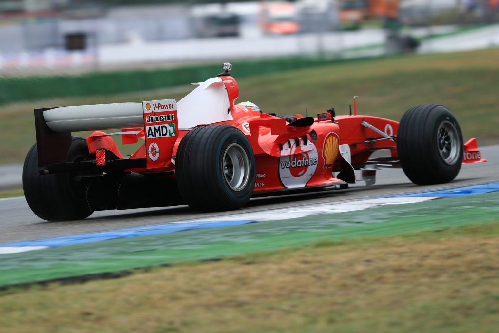 Mick Michael Schumacher F1 Formula 1 German Grand Prix Ferrari F2004