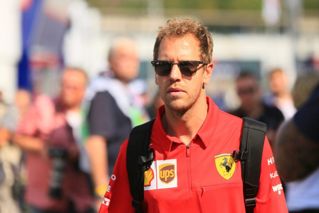 Vettel Ferrari German grand prix hockenheim