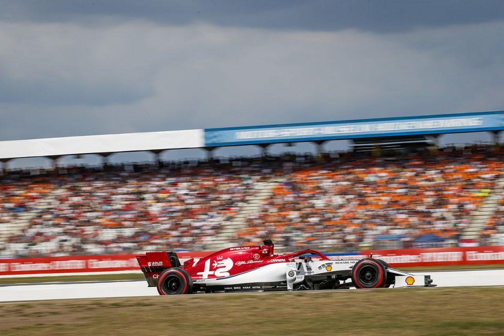 Alfa Romeo Giovinazzi Raikkonen german grand prix appeal
