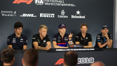 Photo of Hungarian Grand Prix Thursday Drivers Press Conference